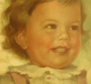 Portrait of Leigh at Age Two